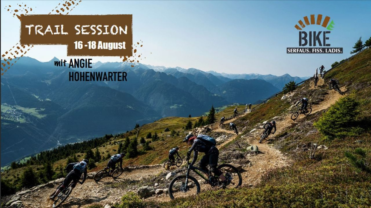 Trail Sessions mit Angie Hohenwarter