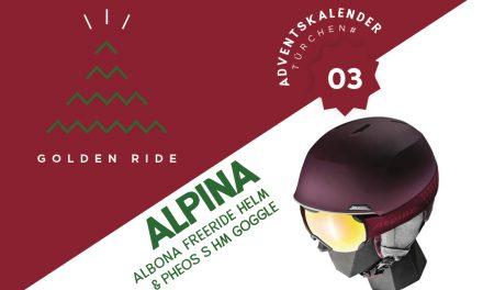 Adventskalender – 3. Türchen: Helm und Goggle von Alpina