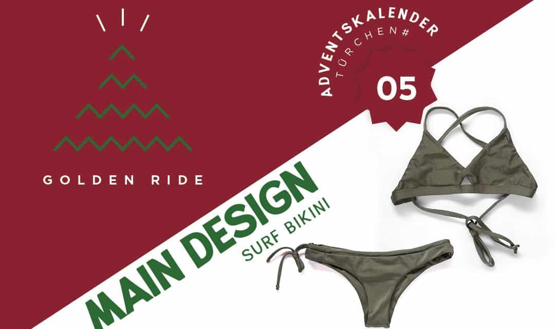 Adventskalender – 5.Türchen: Surf-Bikini von Main Design