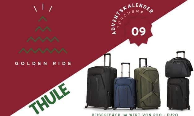 Adventskalender – 9. Türchen: Thule Reisegepäck aus der Crossover Serie