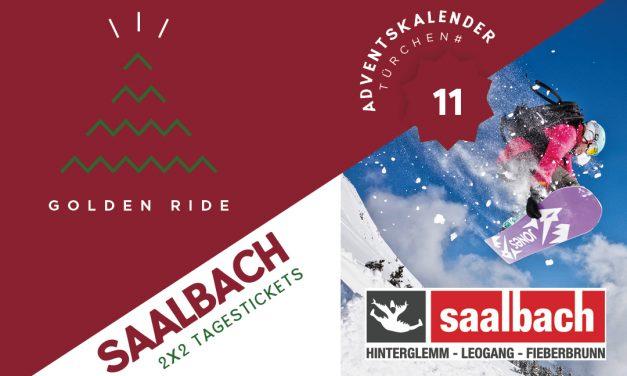 Adventskalender – 11. Türchen: 2 x 2 Tagestickets für Saalbach Hinterglemm