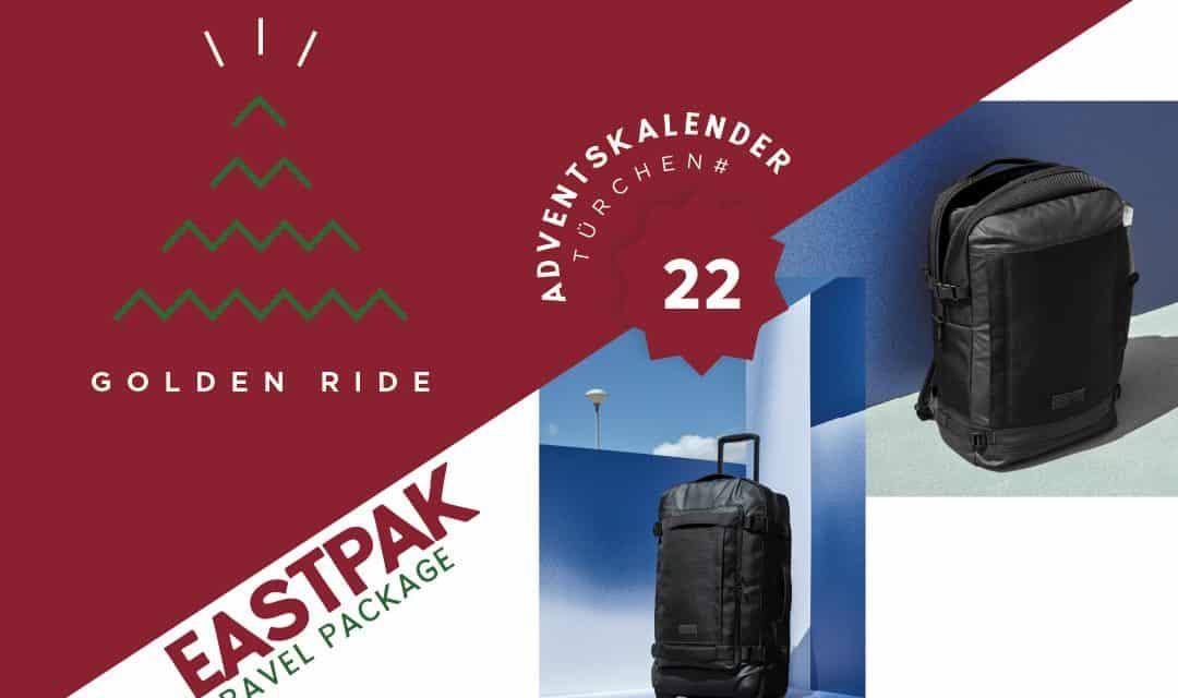 Adventskalender – 22. Türchen: Travel Package von Eastpak