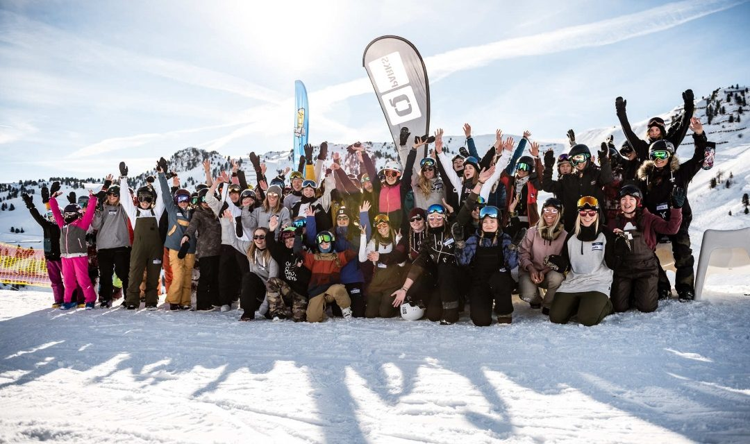 Girls Shred Session Mayrhofen