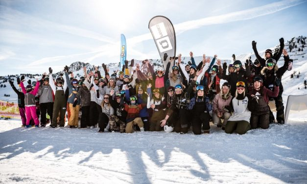 Girls Shred Session Mayrhofen