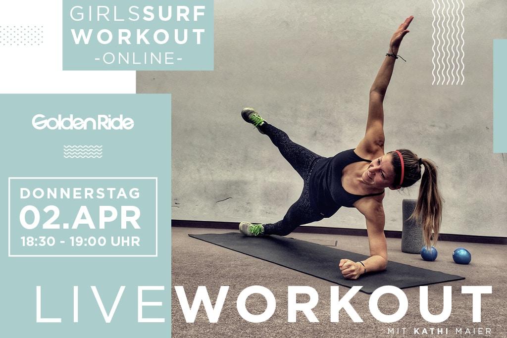 Girls Surf Workout Live