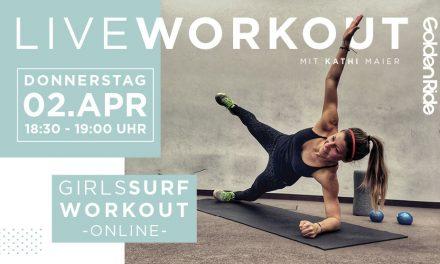 Girls Surf Workout – Live Online Surf Workout