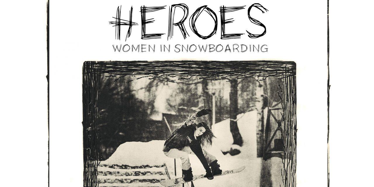 """Frauen Snowboard Fotoprojekt von Jerome Tanon """"Heros"""""""