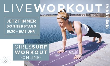 Girls Surf Workout – Live Session jetzt jeden Donnerstag