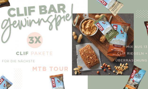 Gewinnspiel – 3 Pakete von Clif Bar für die nächste MTB Tour