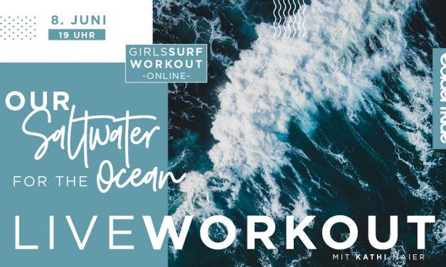World Ocean Day Spendenaktion: Girls Surf Workout für Sea Shepherd