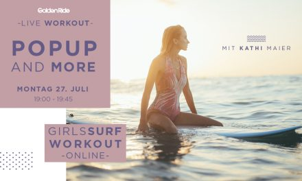 Girls Surf Workout Live Session: PopUp and More Special