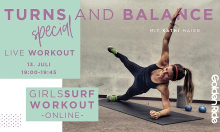 Girls Surf Workout Live Session: Turns and Balance Special
