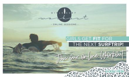 Online Girls Surf Workout Kurs startet im Herbst