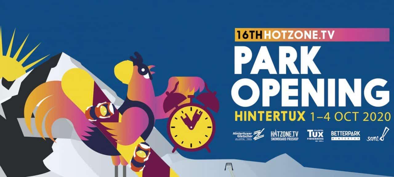 Park Opening 2020 in Hintertux