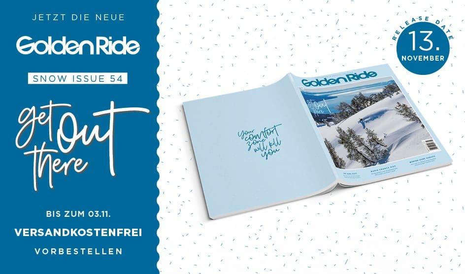 Golden Ride Snow Issue 2020 vorbestellen