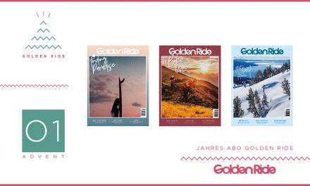 Adventskalender – 01. Türchen: Golden Ride Jahresabo