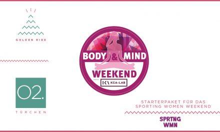 Adventskalender – 02. Türchen: Virtuelles Sporting Women Body & Mind Weekend