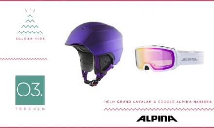 Adventskalender – 03. Türchen: Goggle und Helm von Alpina