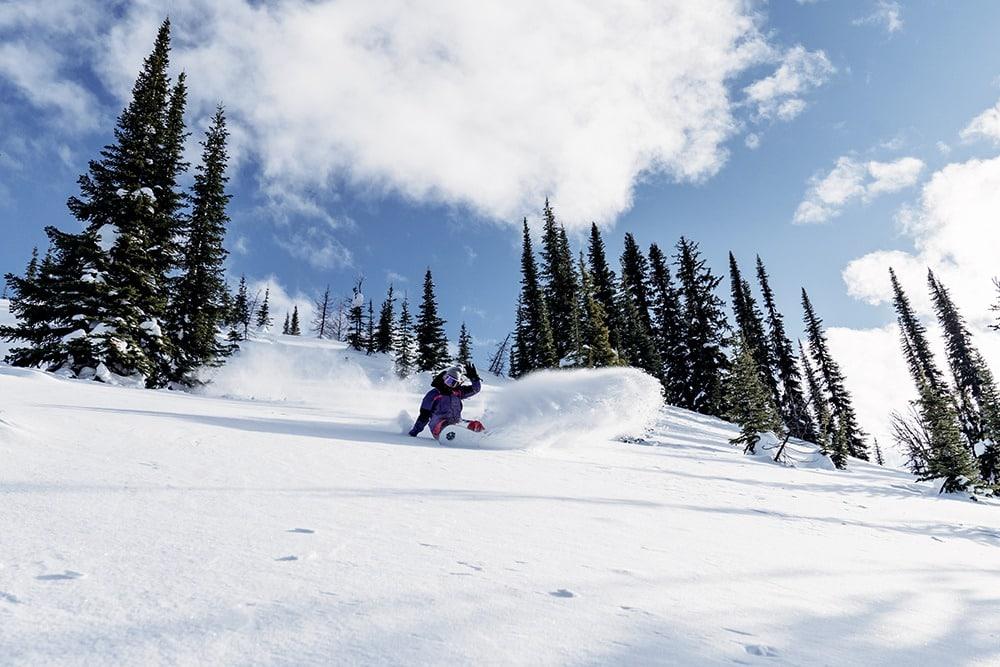 Frauen Snowboardfilm Facets