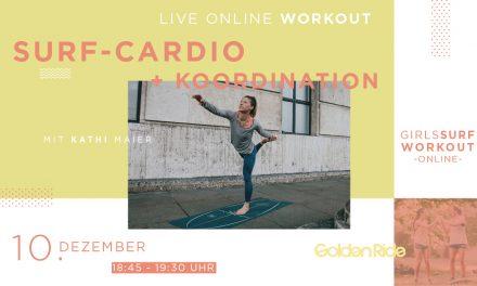 Girls Surf Workout – Surf-Cardio + Koordination Special