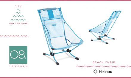 Adventskalender – 08. Türchen: Beach Chair von Helinox