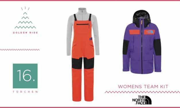 Adventskalender – 16. Türchen: Snowboardoutfit Team Kit von The North Face