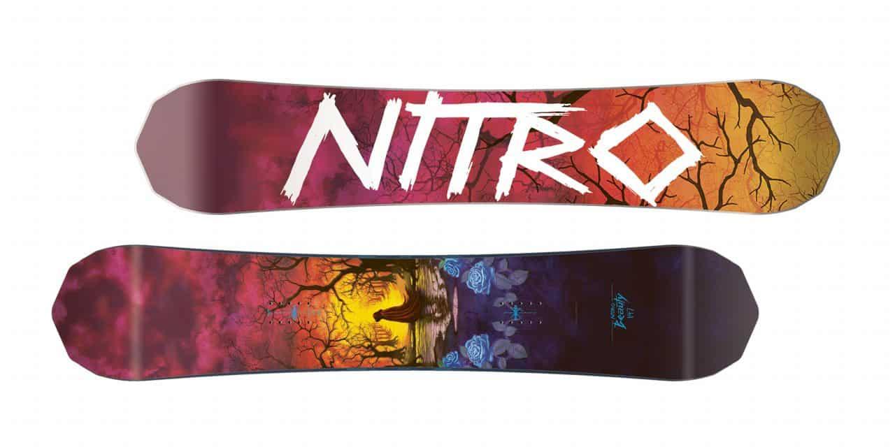 Nitro Beauty Freestyle Snowboard