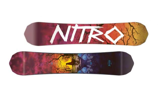 Nitro Beauty Freestyle Snowboard