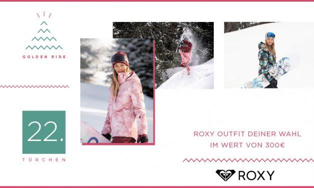 Adventskalender – 22. Türchen: Roxy Outfit im Wert von 300 €