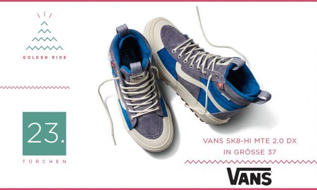 Adventskalender – 23. Türchen: Winter Sneaker Sk8-Hi MTE von Vans