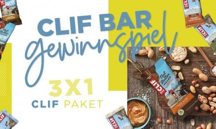 CLIF BAR Gewinnspiel – Sicher Dir ein Paket von CLIF