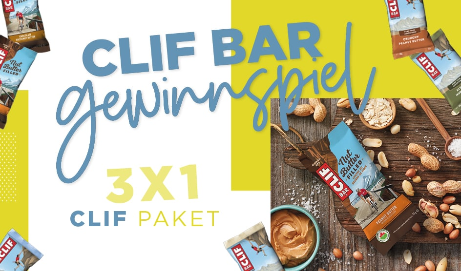 Clif Bar Gewinnspiel