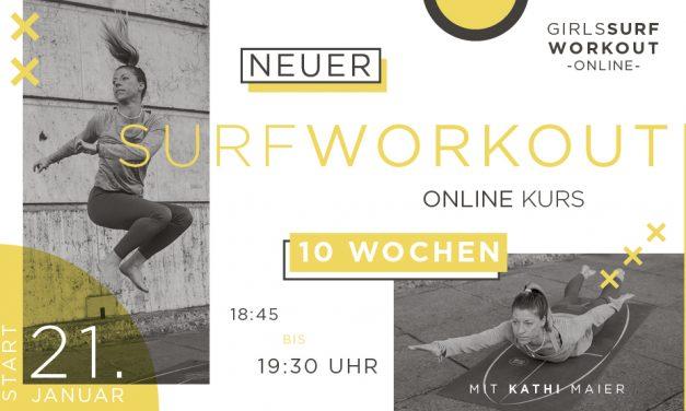 Girls Surf Workout – Neuer Online Kurs ab Januar