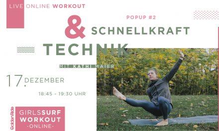 Girls Surf Workout – Schnellkraft & Technik Special