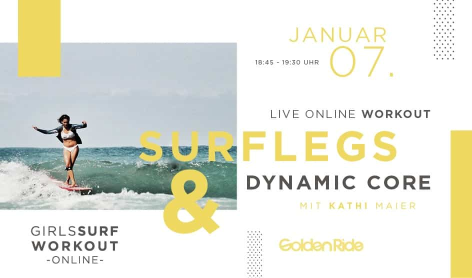 Girls Surf Workout by Golden Ride - Surflegs & Dynamic Core Special