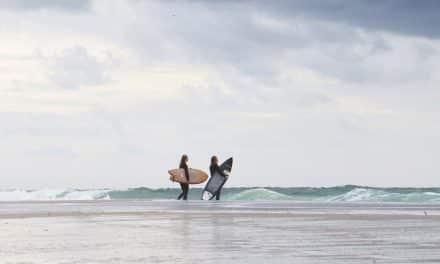 Winter Surf in Deutschland