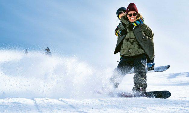 Maria Thomsen – Mama und Profi-Snowboarderin