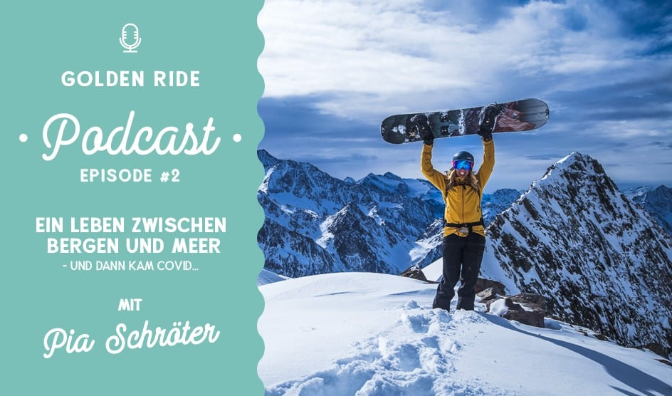 Golden Ride Podcast, Pia Schröter