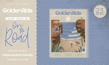 Golden Ride Vanlife / Surf-Ausgabe 2021 vorbestellen