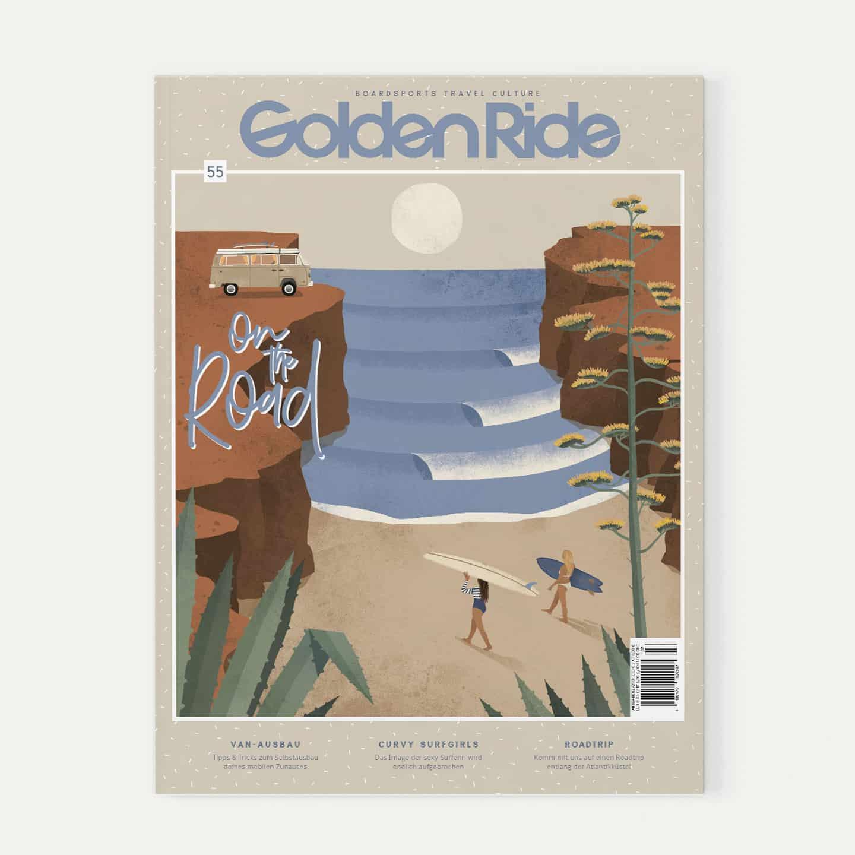 Golden Ride Surf Ausgabe On the road