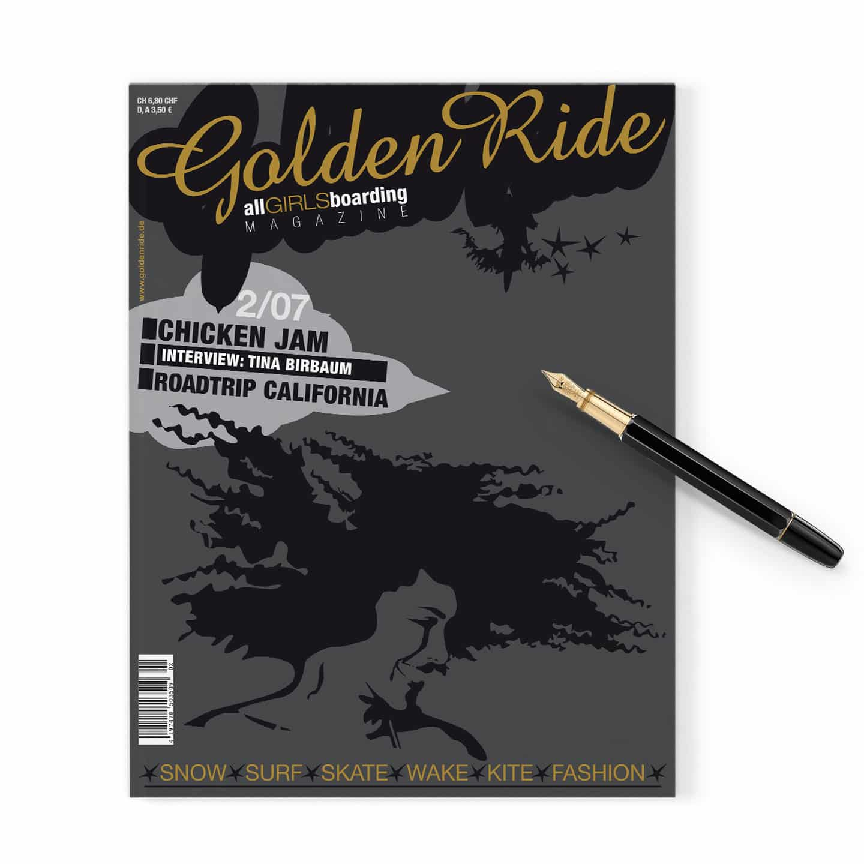 Erstausgabe Golden Ride