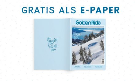 Die aktuelle Snow Issue Get out there als gratis E-Paper