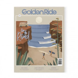 Golden Ride On the road