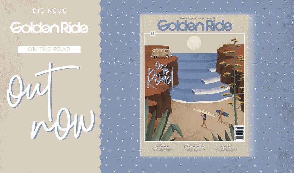 "Golden Ride Vanlife / Surf-Ausgabe ""On the road"""