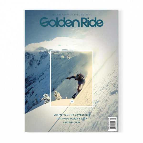 Golden Ride Cover 44