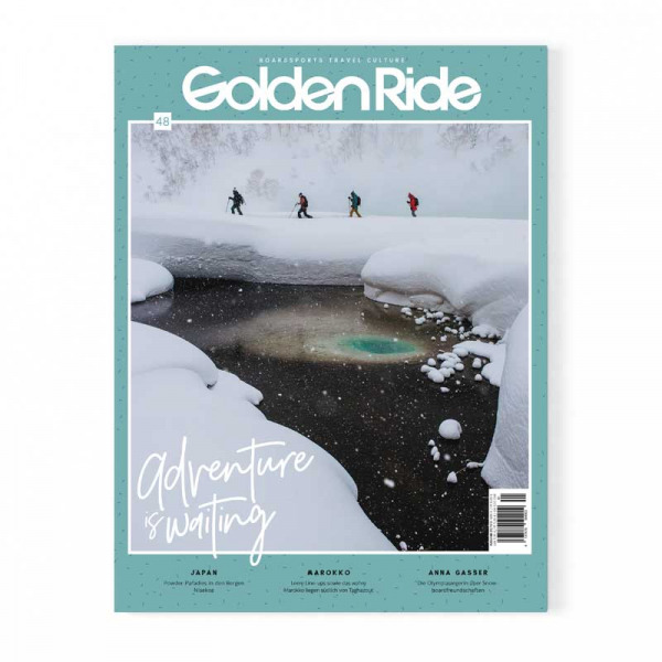 Golden Ride Cover 48