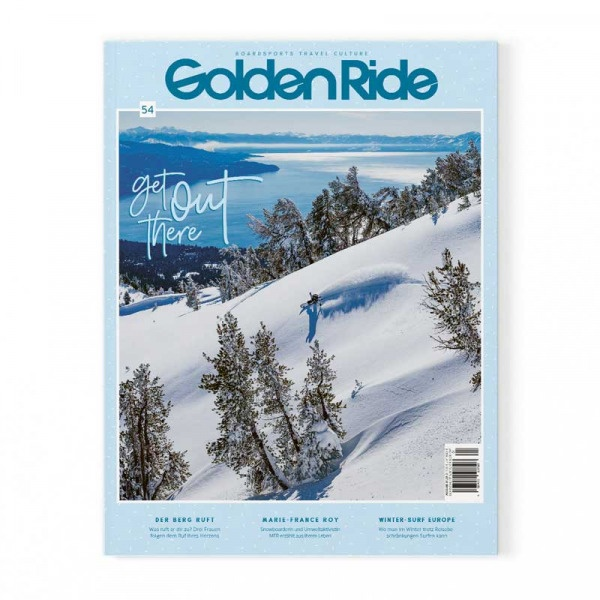 Golden Ride Cover 54