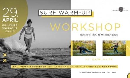 Girls Surf Workout – Surf Warm-Up Workshop