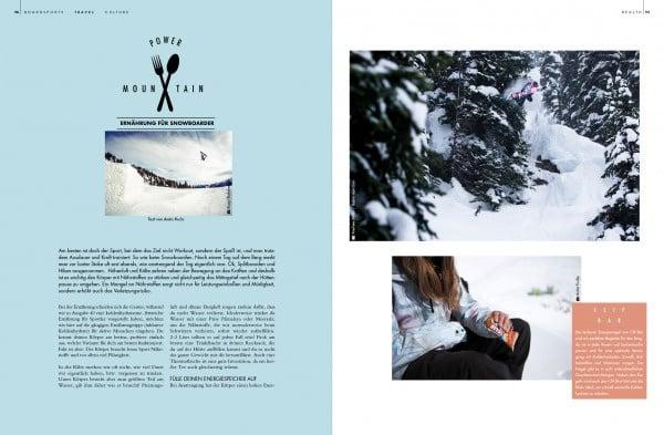Seite aus Golden Ride Snow 17/18