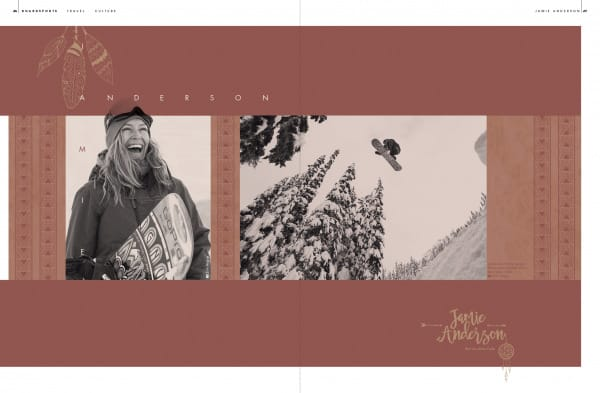 Seite aus Golden Ride Snow Herbst 2016